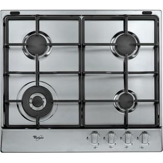Taque de cuisson au gaz AKR 3710/IX Whirlpool - Encastrable - 4 brûleurs gaz