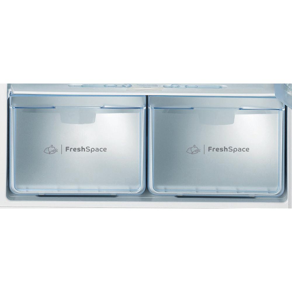Indesit Combinazione Frigorifero/Congelatore A libera installazione TAAN 6 FNF S1 Argento 2 porte Drawer