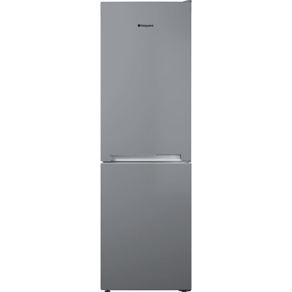 Hotpoint Fridge Freezer Free-standing TDC 85 T1I G Graphite 2 doors Frontal