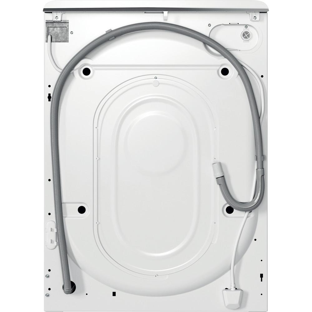 Indesit Vaskemaskine Fritstående MTWA 81483 W EU Hvid Frontbetjent D Back / Lateral