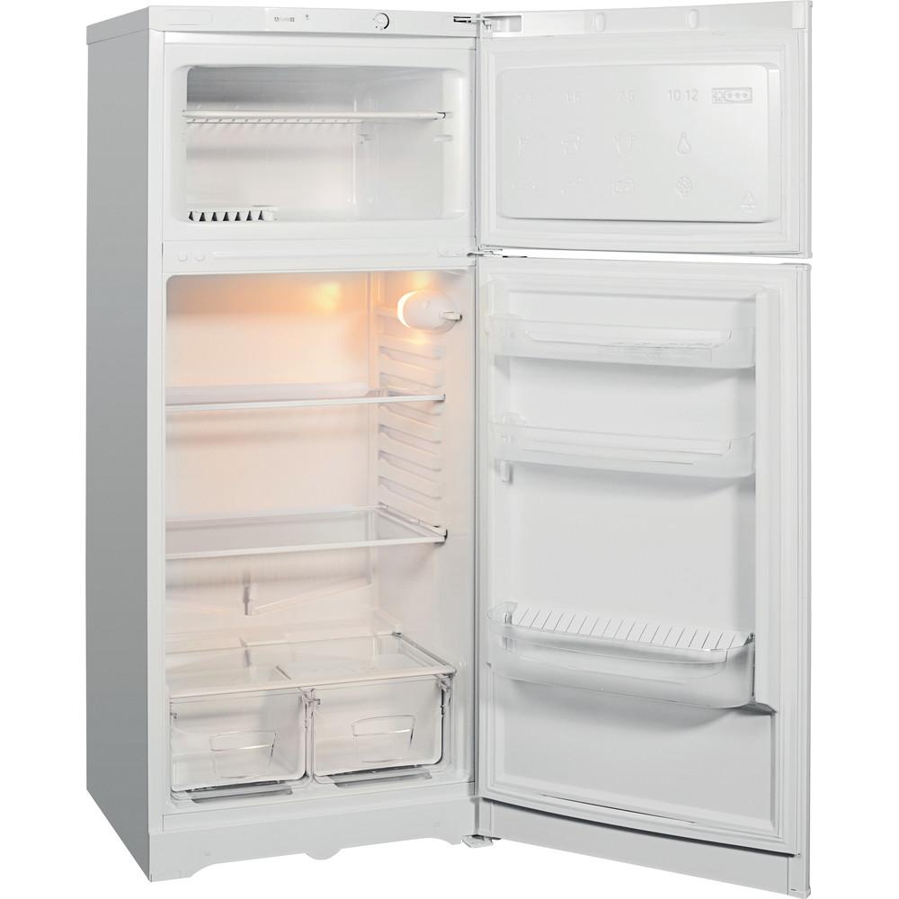 Indesit Холодильник з нижньою морозильною камерою. Соло TIA 14 S AA UA Білий 2 двері Perspective open