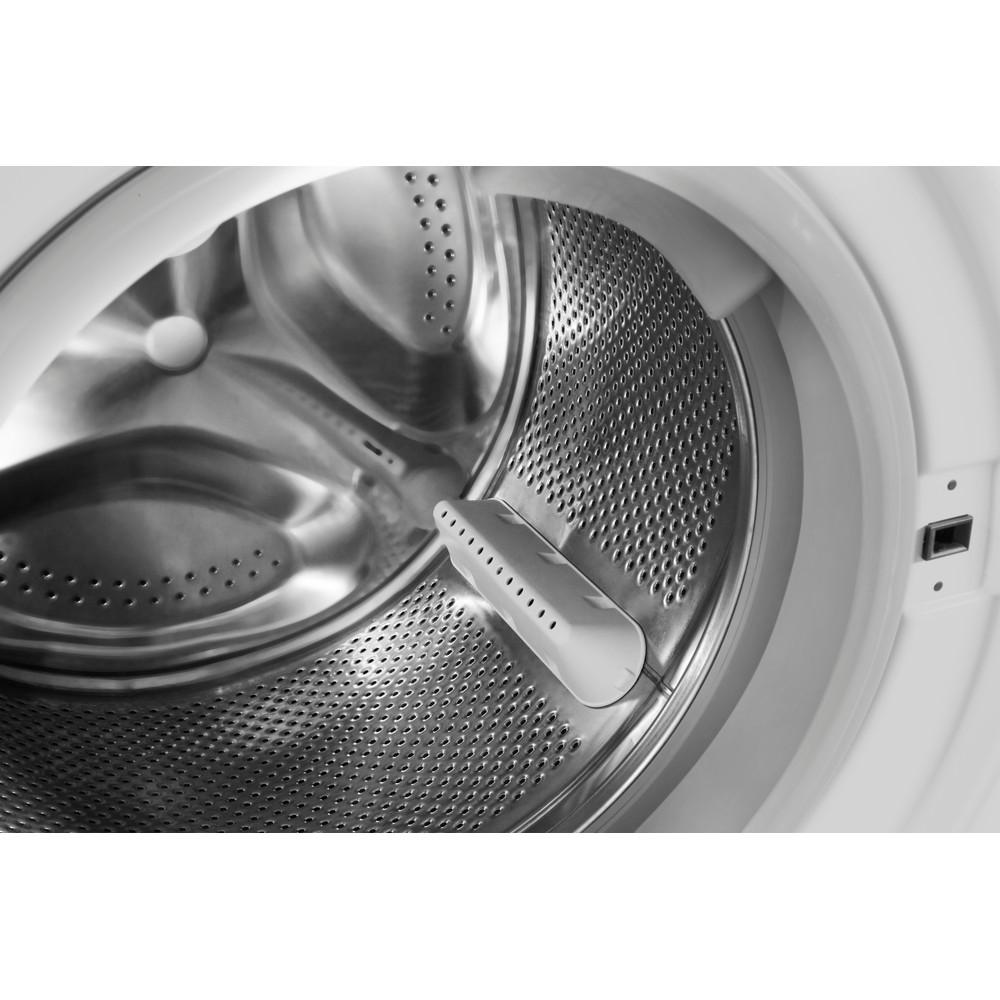 Indesit Pračka se sušičkou Volně stojící XWDA 751480X WSSS EU Bílá Front loader Drum