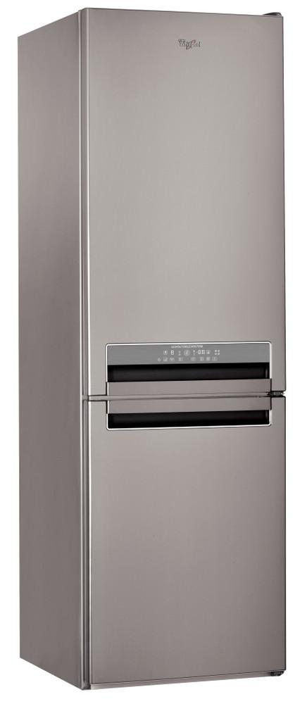 Whirlpool Combiné réfrigérateur congélateur Pose-libre BSNF 8772 OX Optic Inox 2 portes Perspective