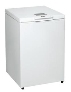 Fritstående Whirlpool-kummefryser: hvid farve - WH1411 E2