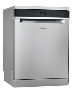 Whirlpool dishwasher: inox color, full size - WFO 3O33 D X