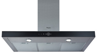 Whirlpool wall mounted cooker hood - AKR 759/1 IX