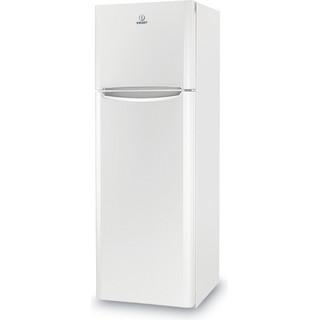 Indesit Combiné réfrigérateur congélateur Pose-libre TIAA 12 V 1 Blanc 2 portes Perspective
