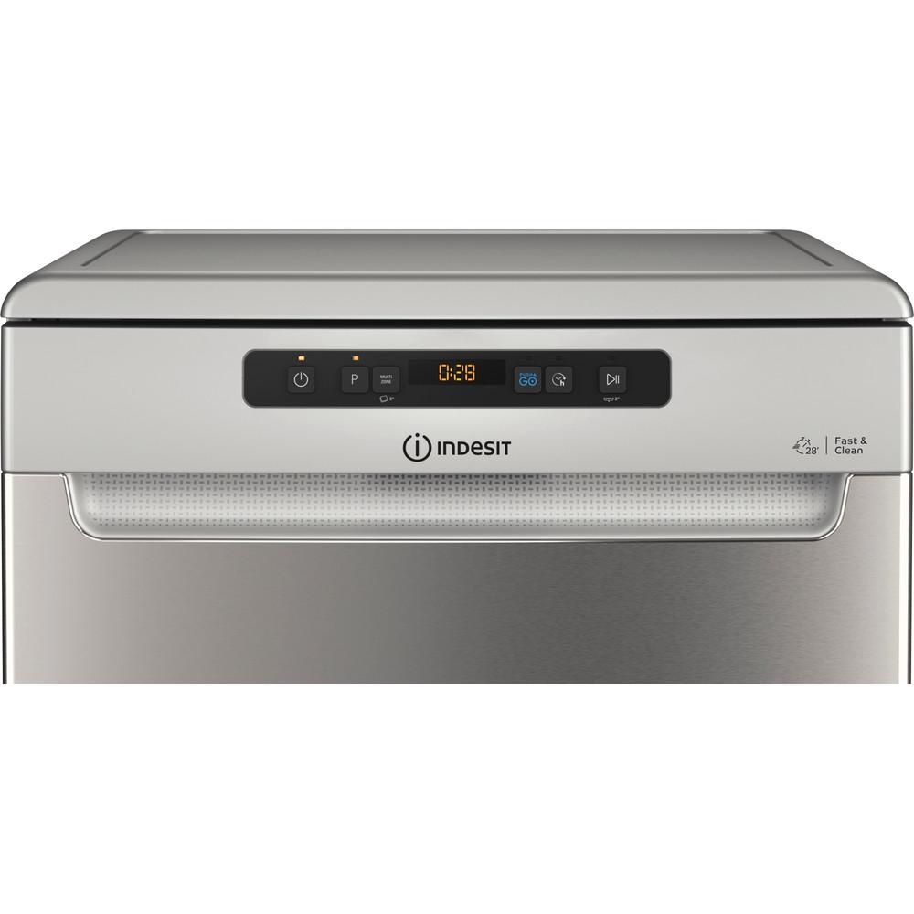 Indesit Mašina za pranje posuđa Samostojeći DFO 3C26 X Samostojeći E Control panel