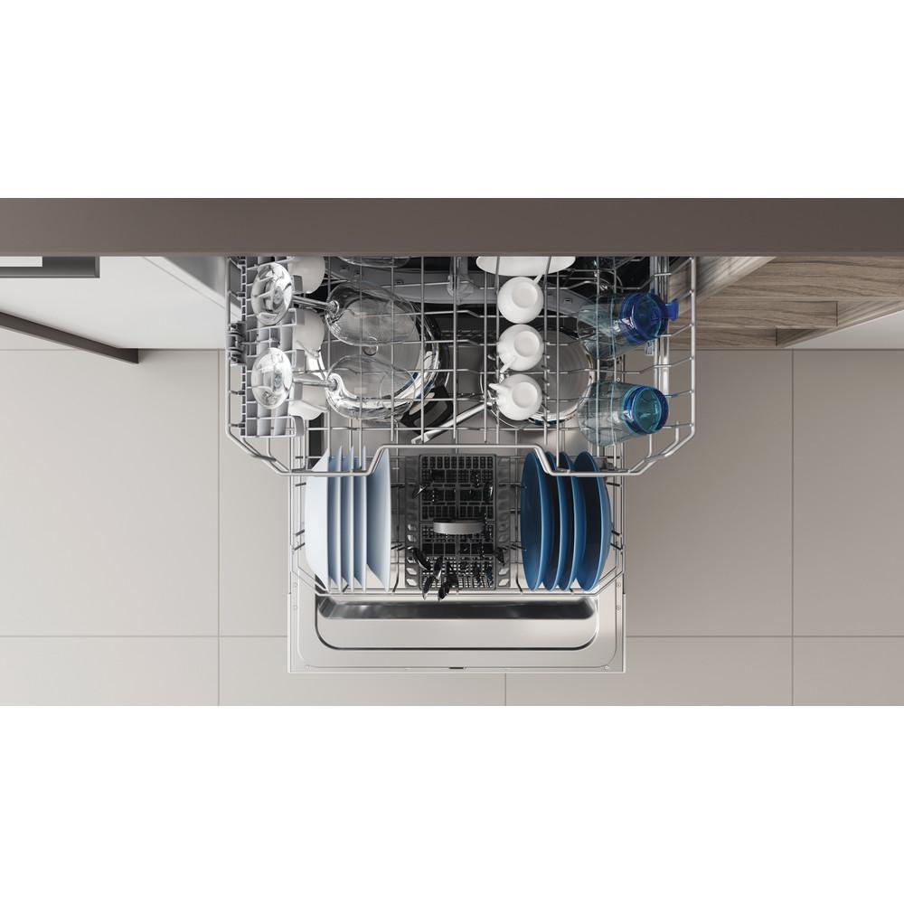 Indesit Vaatwasser Inbouw DIE 2B19 Volledig geïntegreerd F Rack