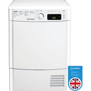 Indesit Dryer EDCE 85 B TM (UK) White Award
