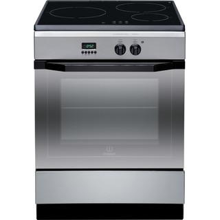 Indesit Cucina con forno a doppia cavità I63I 6C6A.T(X)/FR Inox Elettrico Frontal