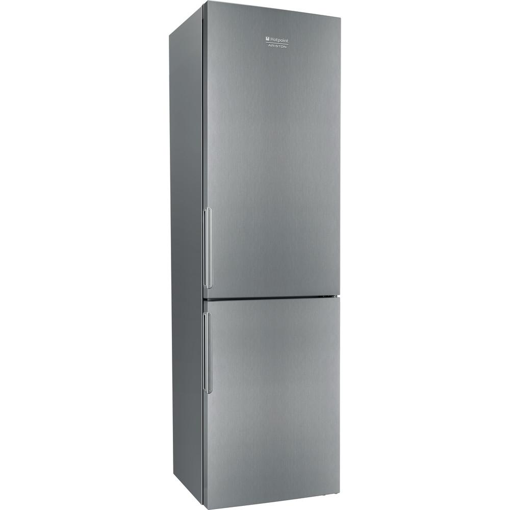 Hotpoint_Ariston Комбинированные холодильники Отдельностоящий HF 4201 X R Нержавеющая сталь 2 doors Perspective