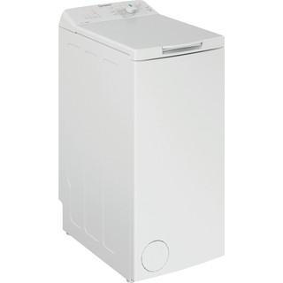 Indesit Lave-linge Pose-libre BTW L6230 FR/N Blanc Lave-linge top A+++ Perspective