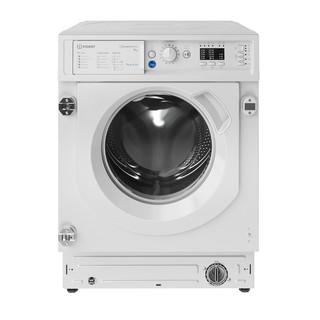Indesit Washing machine Built-in BI WMIL 91484 UK White Front loader C Frontal