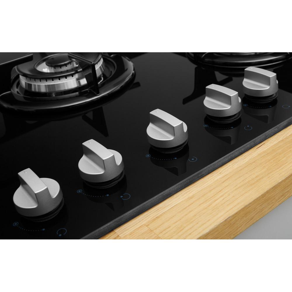 Indesit Piano cottura PR 752 W/I(BK) Nero GAS Lifestyle_Control_Panel