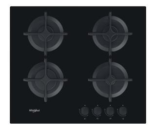 Whirlpool gáz főzőlap 4 gázégővel - GOB 616/NB