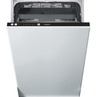 Whirlpool integrerad diskmaskin: färg svart, 45 cm - WSIE 2B19 C