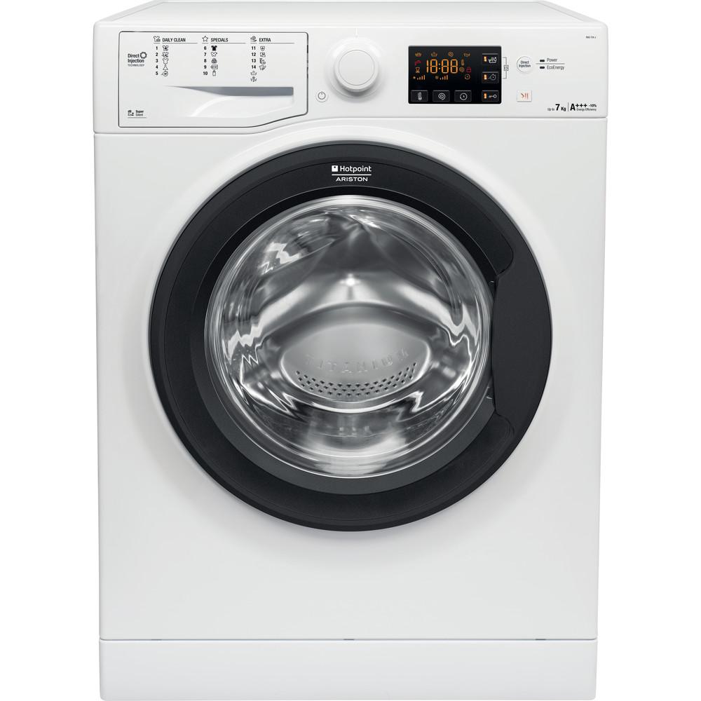 Hotpoint_Ariston Maşină de spălat rufe Neincorporabil RSG 724 JA EU Alb Încărcare frontală A +++ Frontal