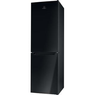 Indesit Холодильник с морозильной камерой Отдельно стоящий LI8 FF2 K Черный 2 doors Perspective