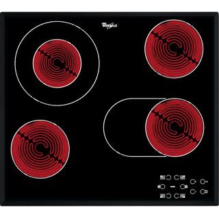 Whirlpool Ploča za kuhanje AKT 8190/BA Crna Radiant vitroceramic Frontal
