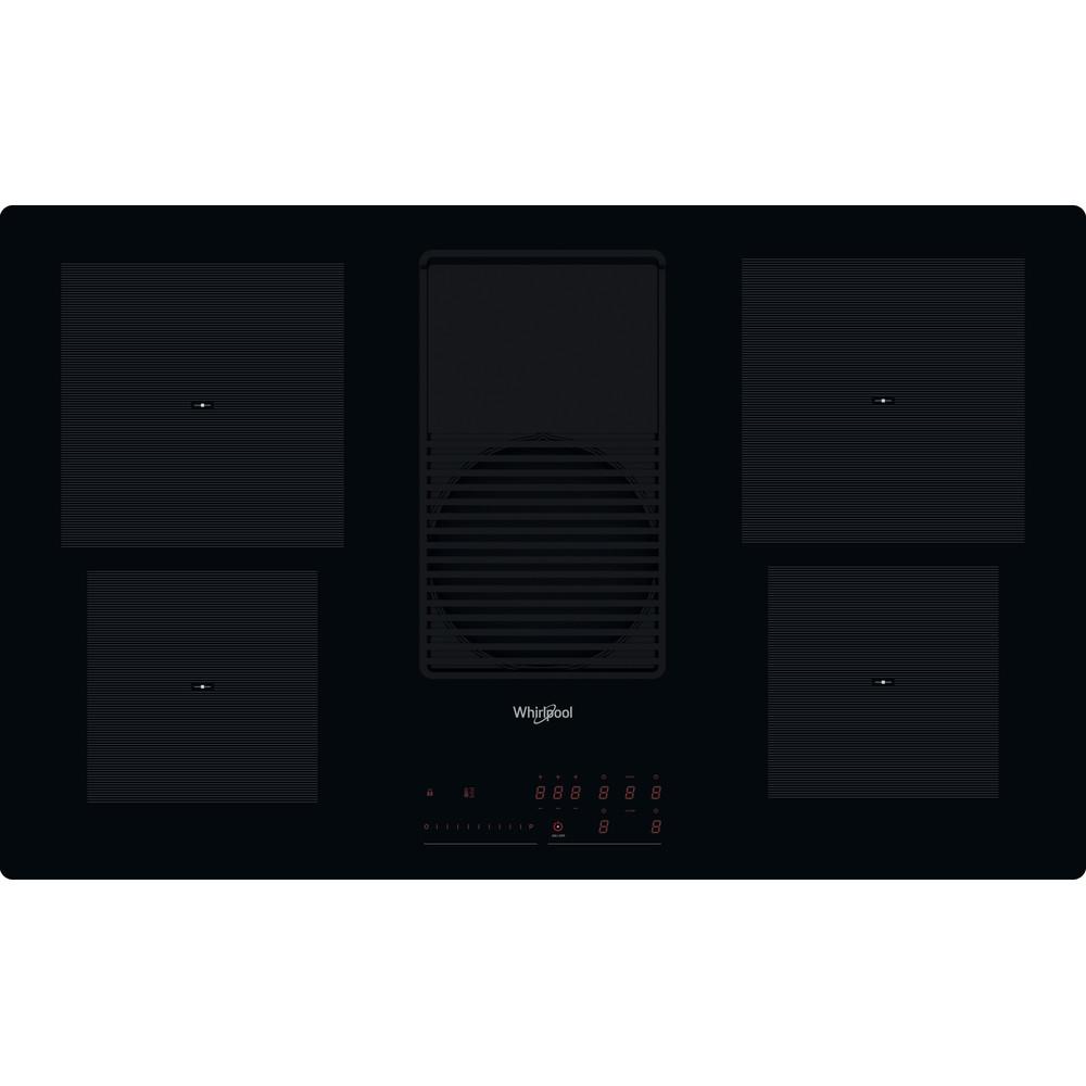 Whirlpool WVH 92 K Inductie kookplaat met geïntegreerde dampkap - Inbouw - 4 kookzones