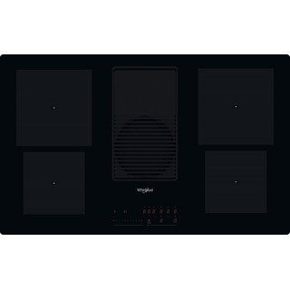 Whirlpool Venting cooktop WVH 92 K Preto Frontal