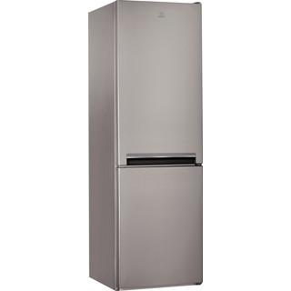 Indesit Kombinovaná chladnička s mrazničkou Voľne stojace LI9 S2E X Nerezová 2 doors Perspective