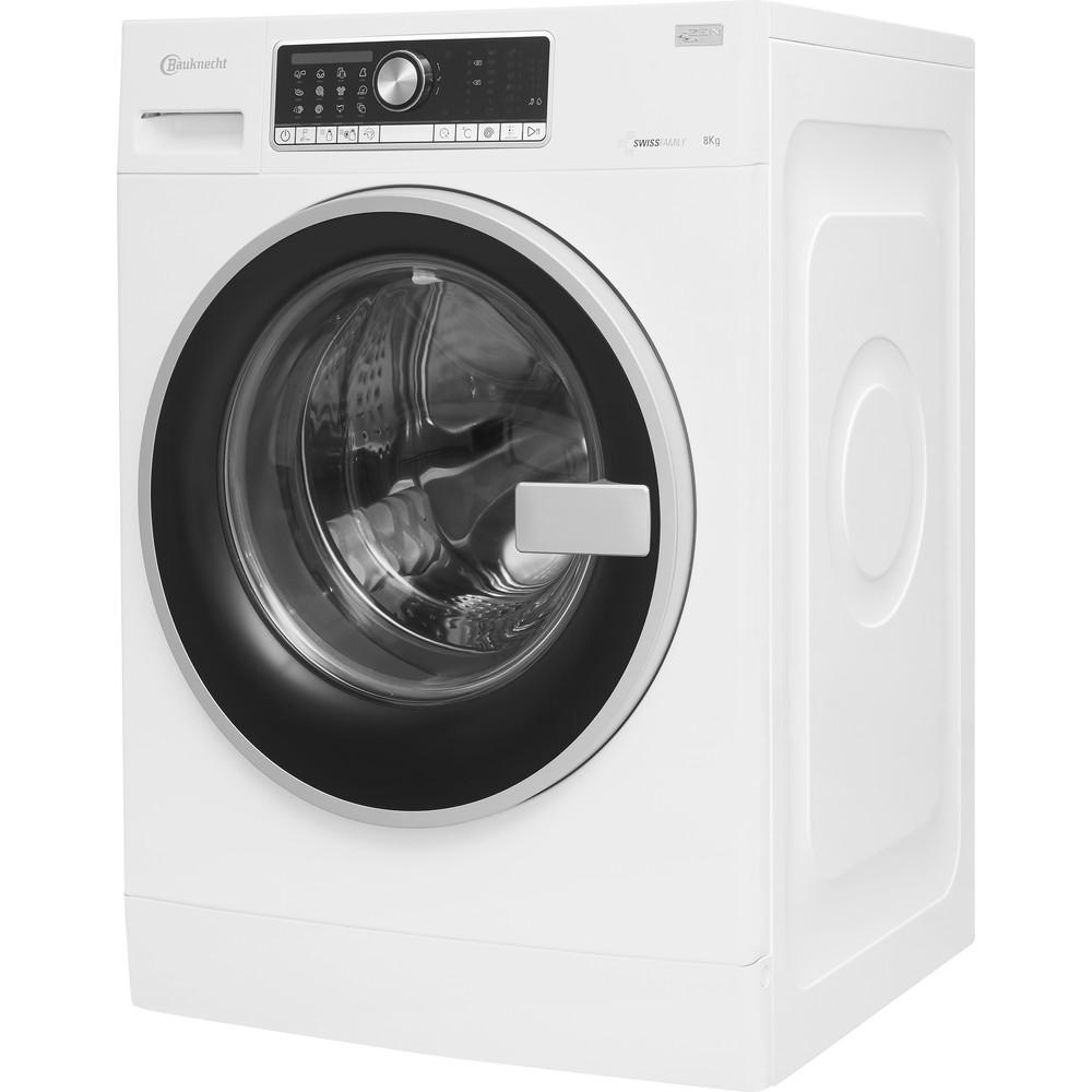 Bauknecht Waschmaschine Standgerät WM AutoDos814ZEN Weiss Frontlader A+++ Perspective