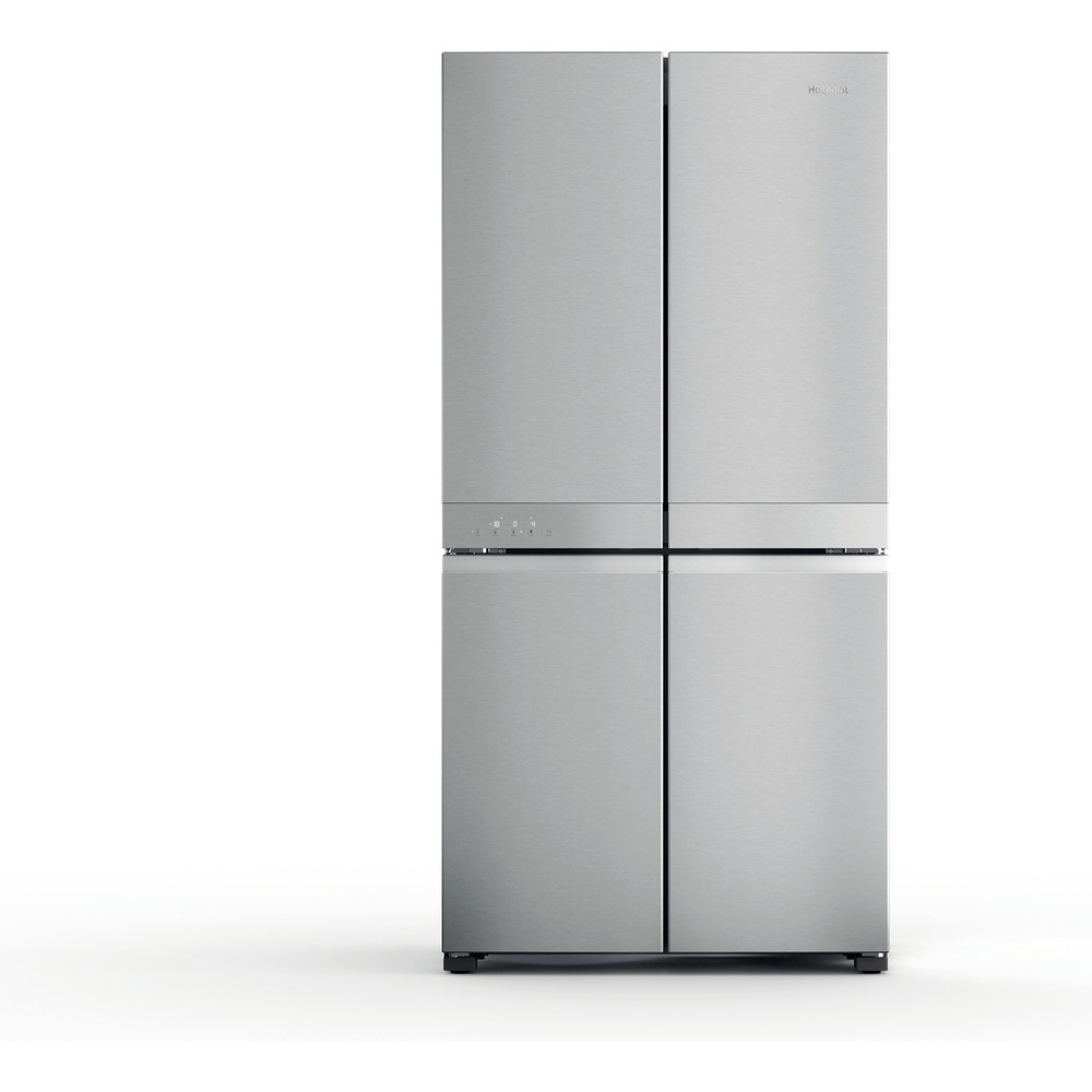 Hotpoint Side-by-Side Free-standing HQ9 M2L UK Inox Look Frontal