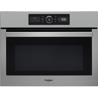 Whirlpool Microwave Built-in AMW 9615/IX UK Stainless Steel Electronic 40 MW-Combi 900 Frontal