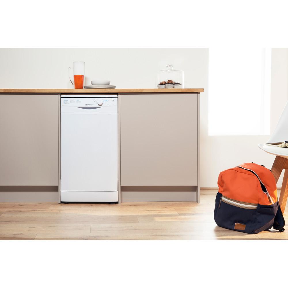 Indesit Посудомоечная машина Отдельно стоящий DSR 15B1 EU Отдельно стоящий A Lifestyle frontal