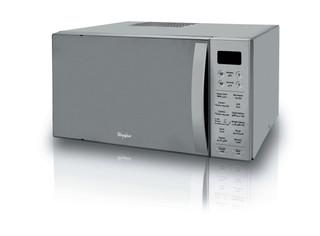 Whirlpool freestanding microwave oven: inox color - MWO 638/1 IX