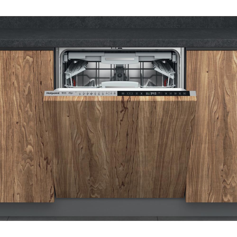 Hotpoint Dishwasher Built-in HIP 4O539 WLEGT UK Full-integrated B Frontal