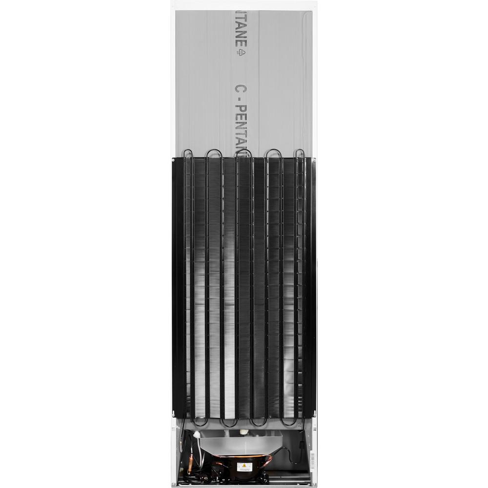 Indesit Комбиниран хладилник с камера Свободностоящи LI8 S1 W Бял 2 врати Back / Lateral