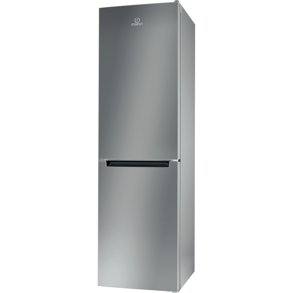 Indesit Συνδυασμός ψυγείου/καταψύκτη Ελεύθερο XIT9 T3U X Inox 2 doors Perspective