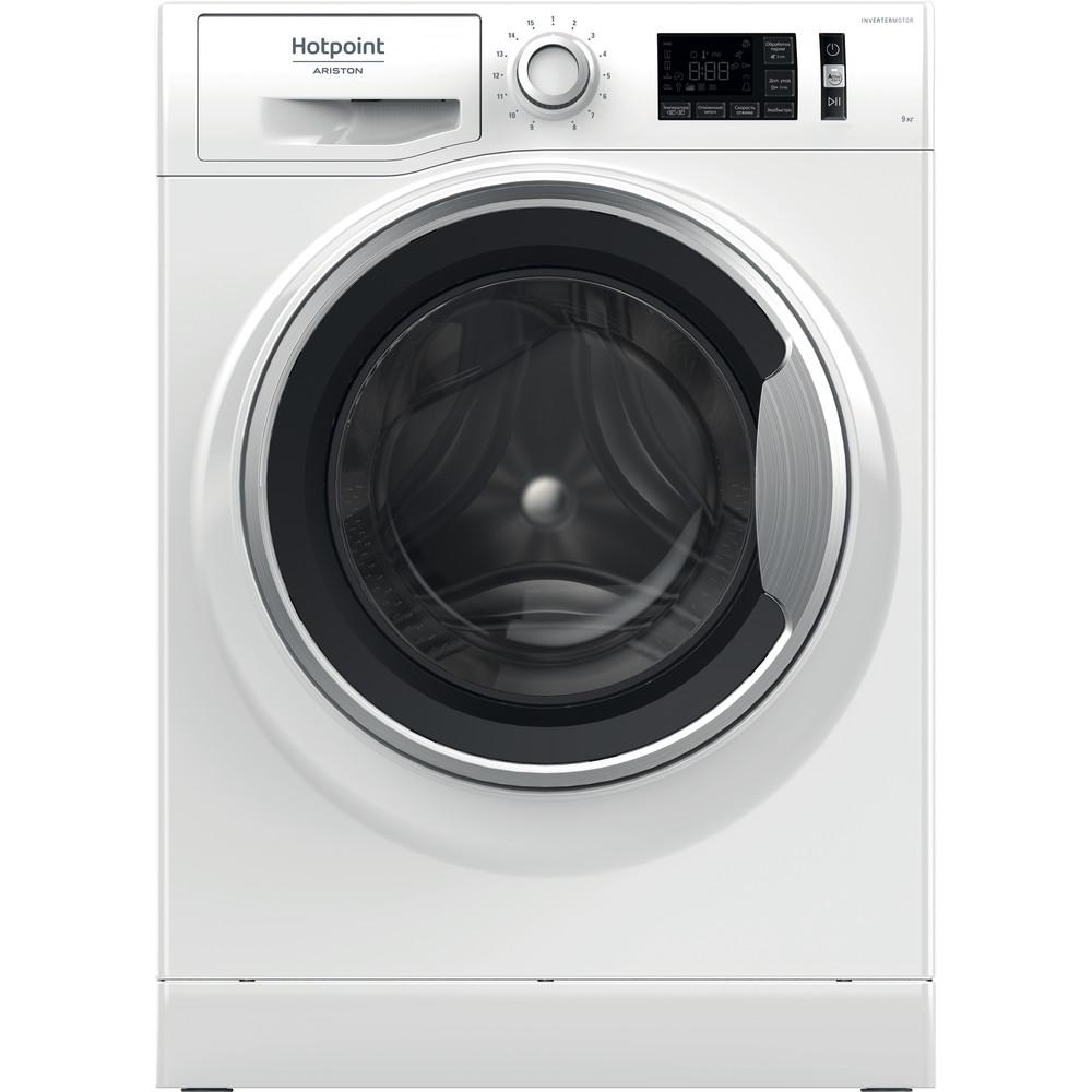 Hotpoint_Ariston Стиральная машина Отдельностоящий NLM11 945 WS A RU Белый Фронтальная загрузка A Frontal