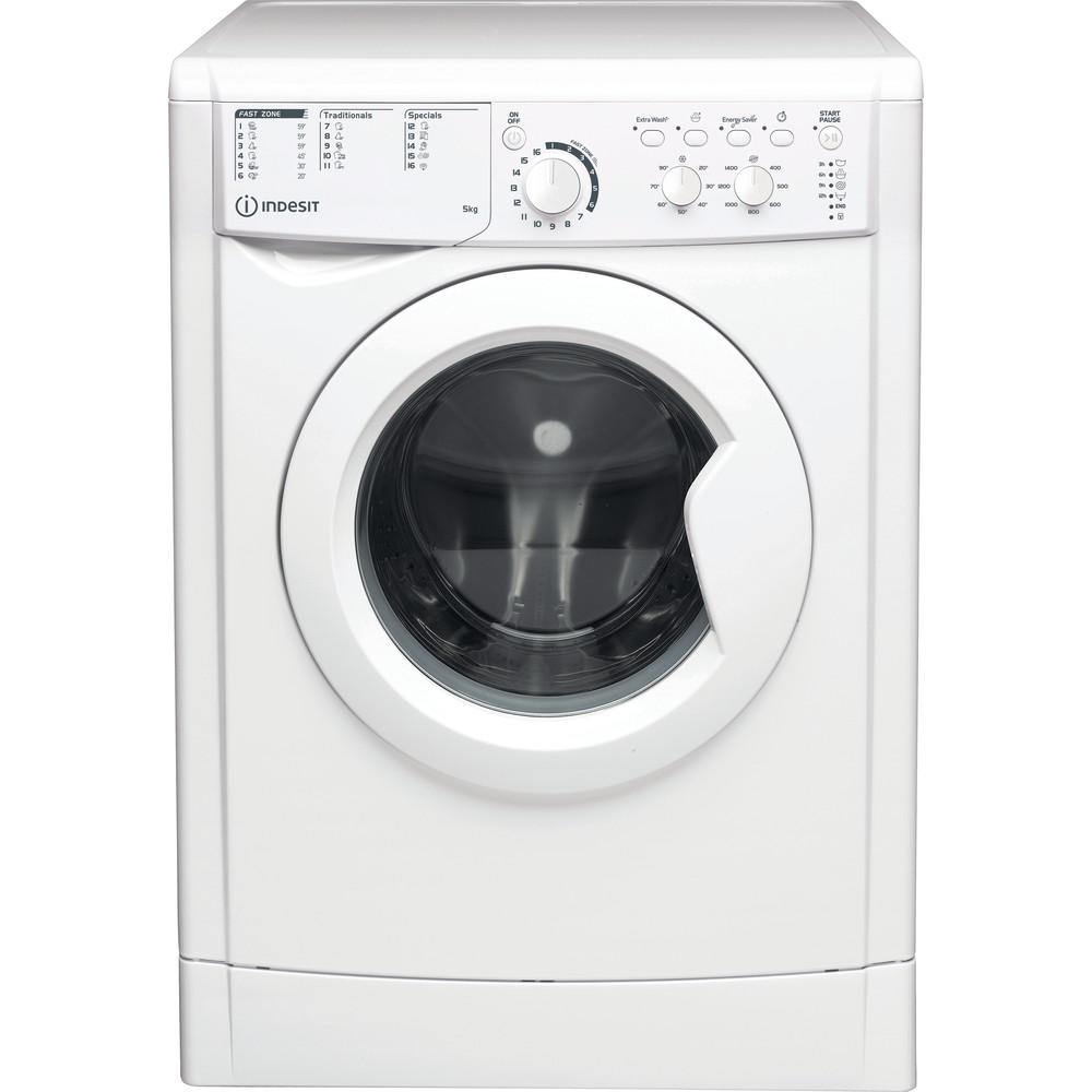 Indesit Wasmachine Vrijstaand EWC 51451 W EU N Wit Voorlader F Frontal