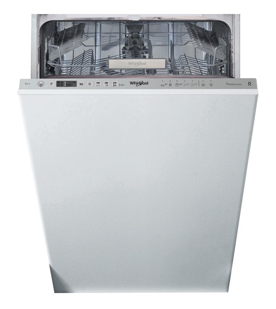 Whirlpool Astianpesukone Kalusteisiin sijoitettava WSIO 3T223 PE X Full-integrated A++ Frontal