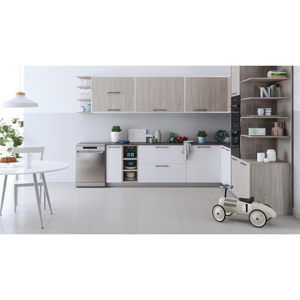 Indesit Máquina de lavar loiça Livre Instalação DFO 3T133 A F X Livre Instalação D Lifestyle frontal