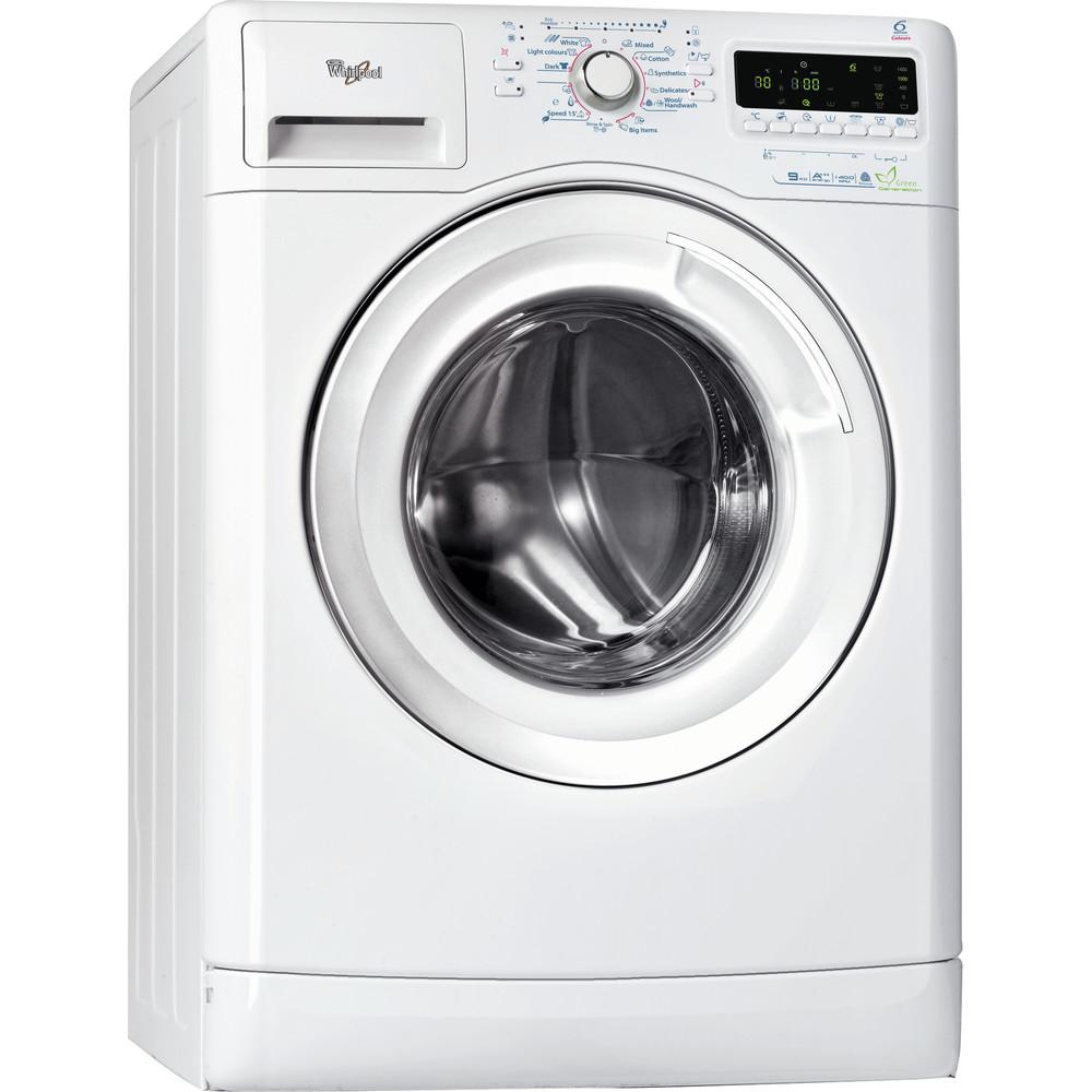Whirlpool frontmatad tvättmaskin: 9 kg - AWOE 9002