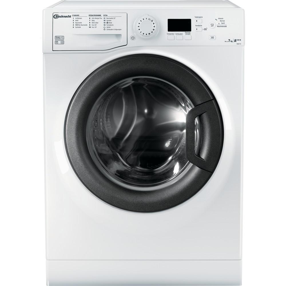 Bauknecht Waschmaschine Standgerät FWM 7F4 Weiss Frontlader A+++ Frontal