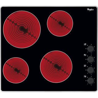 Whirlpool HOB AKM 609 IX Black Radiant vitroceramic Frontal