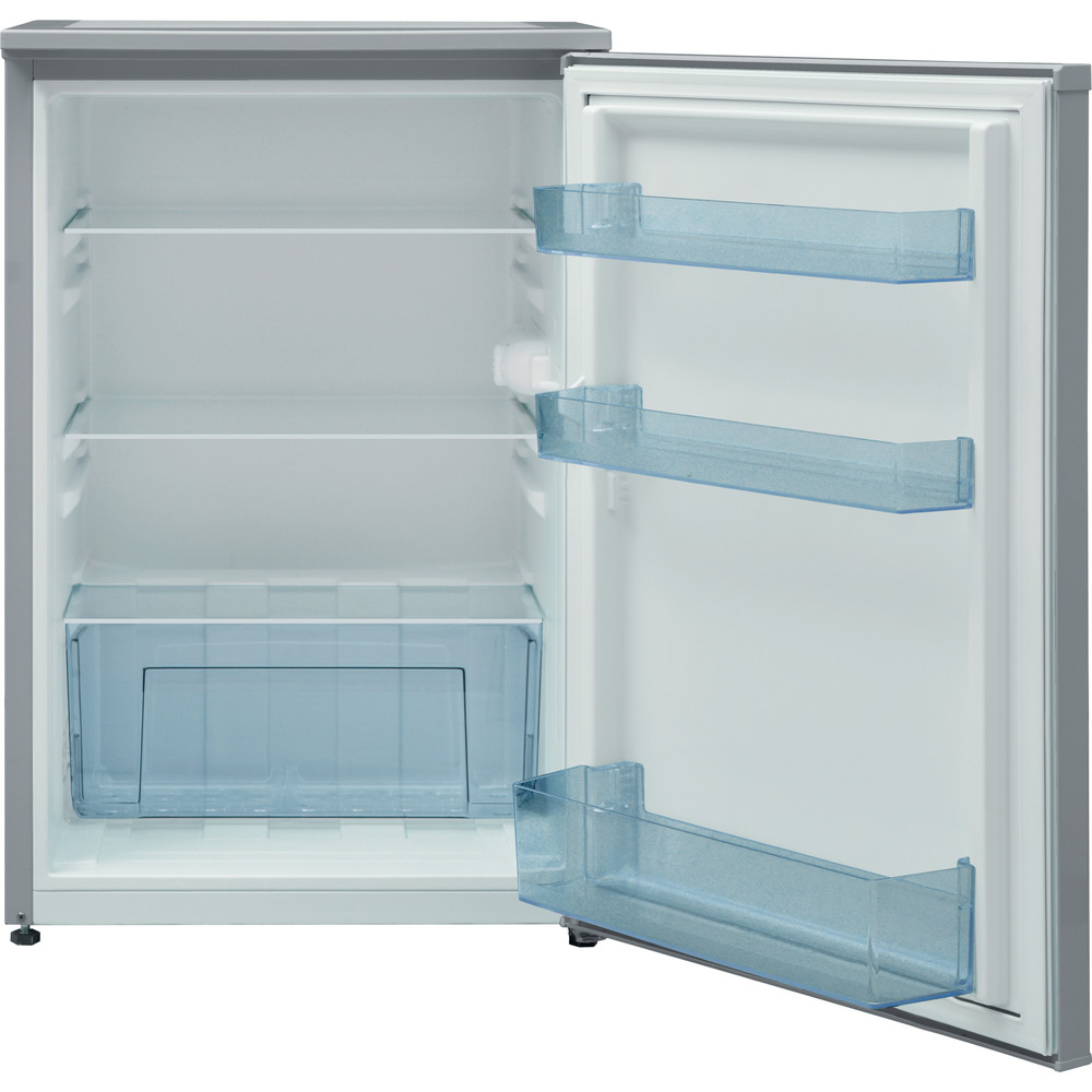 Indesit Refrigerator Free-standing I55RM 1110 S 1 Silver Frontal open