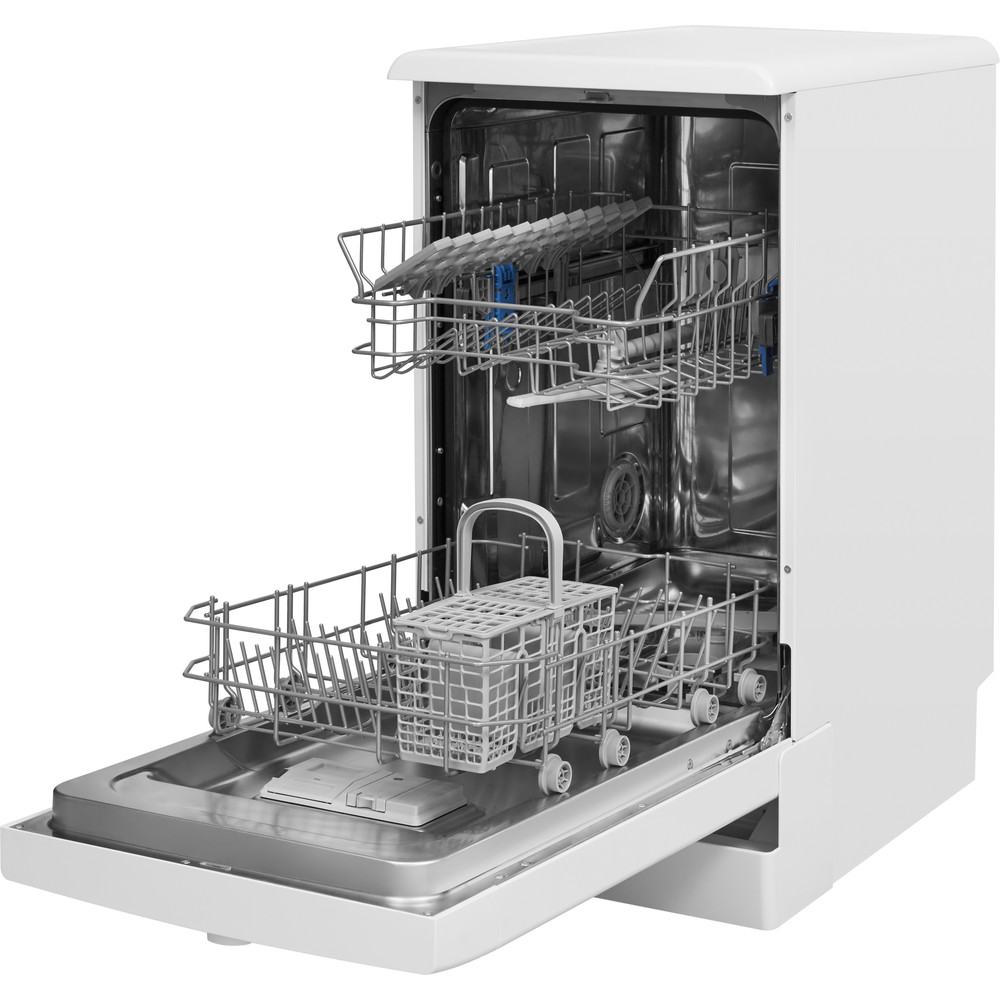 Indesit Посудомоечная машина Отдельно стоящий DSFE 1B10 Отдельно стоящий A+ Perspective open