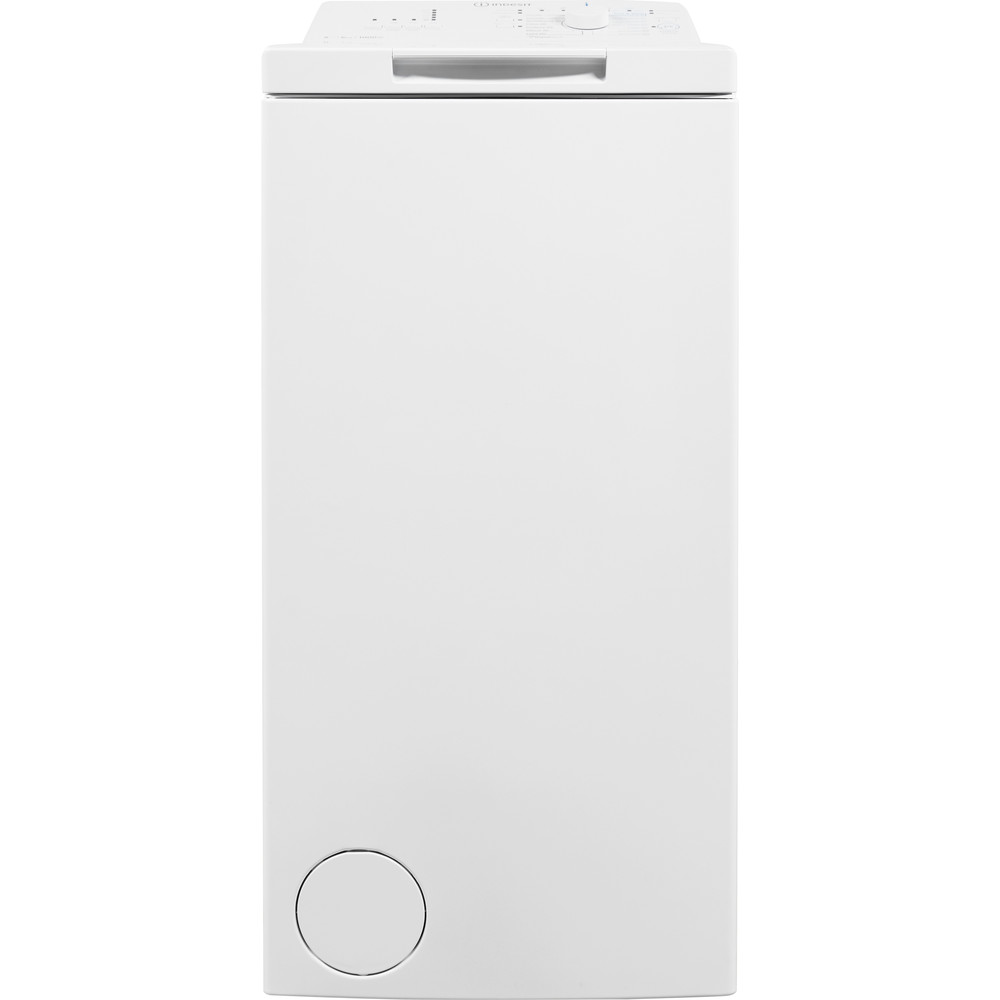 Indesit Пральна машина Соло BTW D61053 (EU) Білий Top loader A+++ Frontal