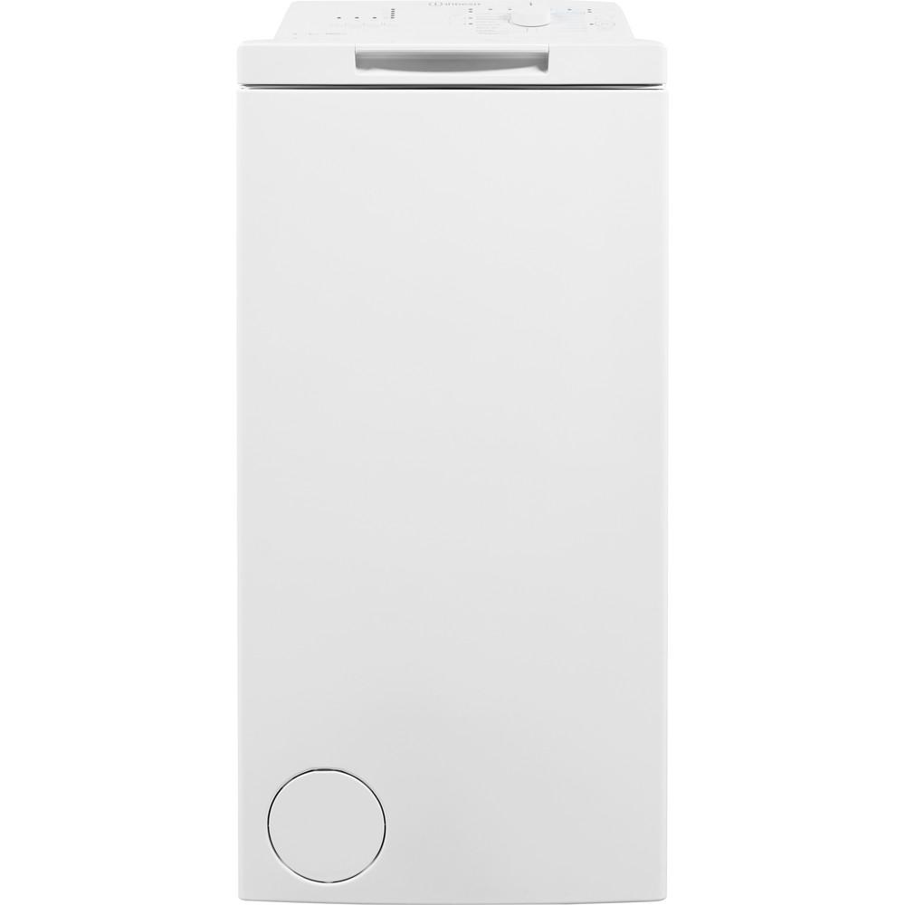 Indesit Pračka Volně stojící BTW D61053 (EU) Bílá Top loader A+++ Frontal