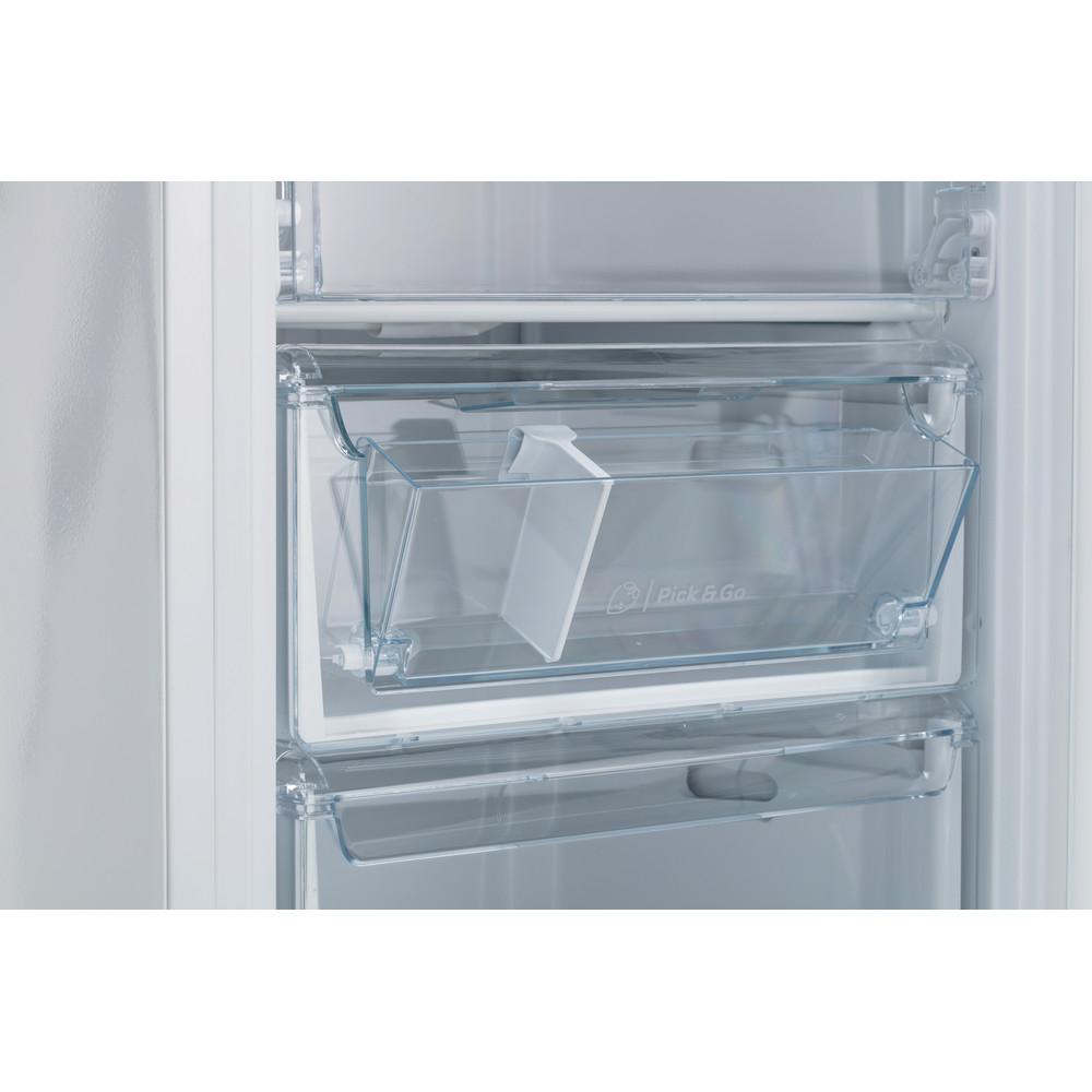 Indesit Морозильная камера Отдельностоящий IDU 0175 Белый Drawer