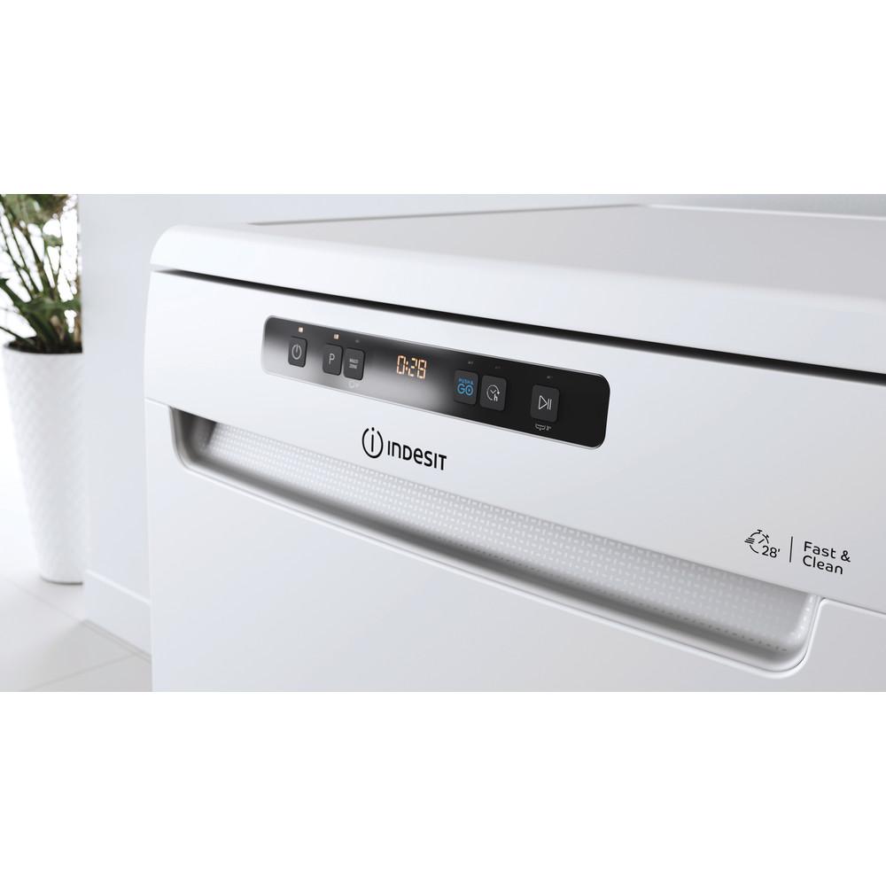 Indesit Lave-vaisselle Pose-libre DFO 3C23 A Pose-libre E Lifestyle control panel