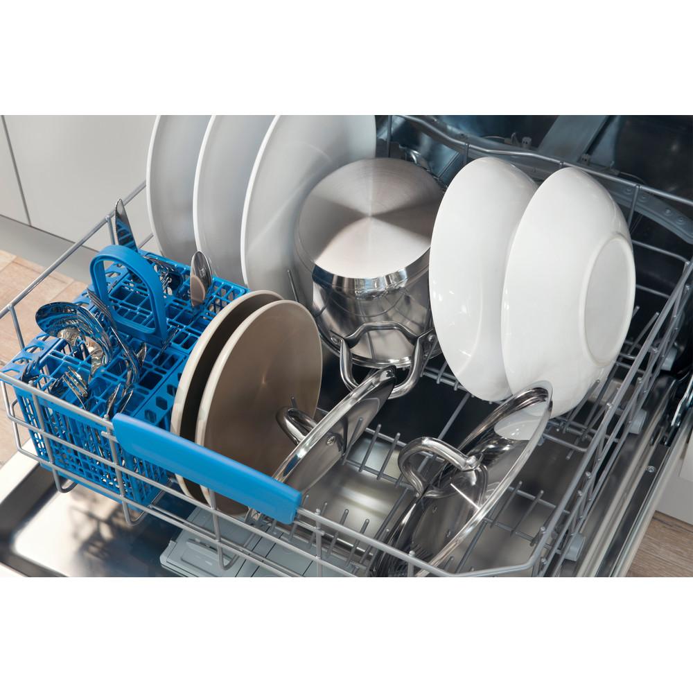 Indesit Umývačka riadu Voľne stojace DFP 27T94 A EU Voľne stojace A Rack