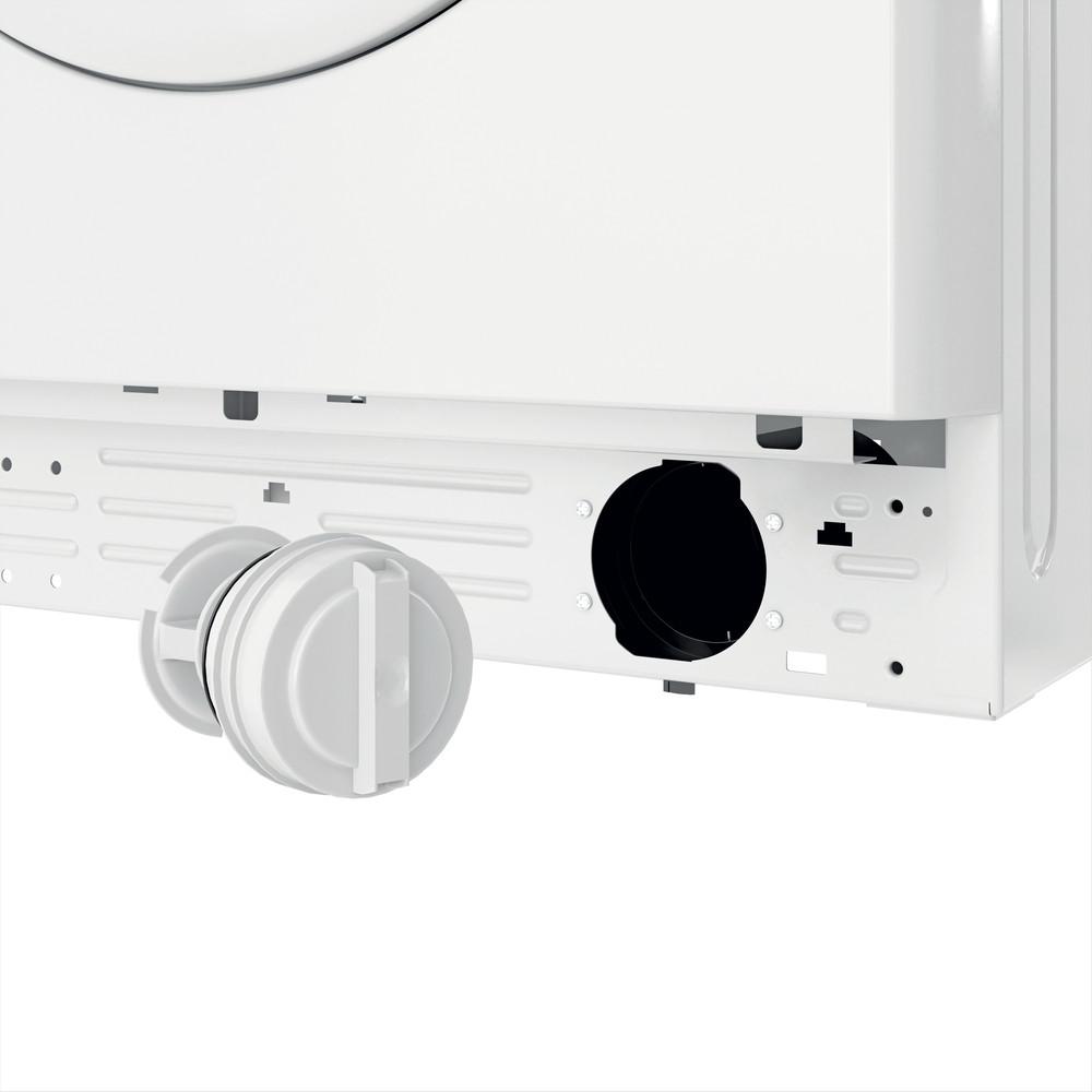 Indsit Maşină de spălat rufe Independent MTWSE 61252 W EE Alb Încărcare frontală A +++ Filter